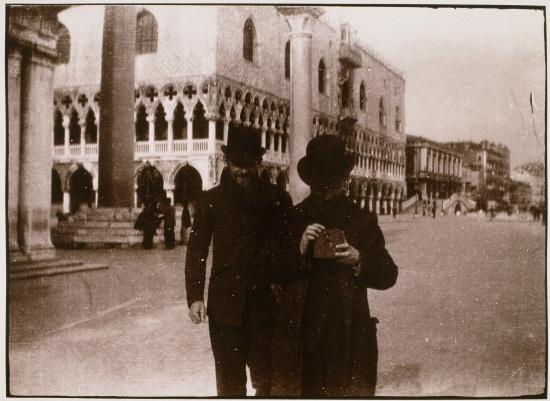 Pierre Bonnard, Ker‐Xavier Roussel and Edouard Vuillard, Venice, 1899.