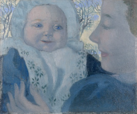Maurice Denis, Noële and Her Mother, 1896.