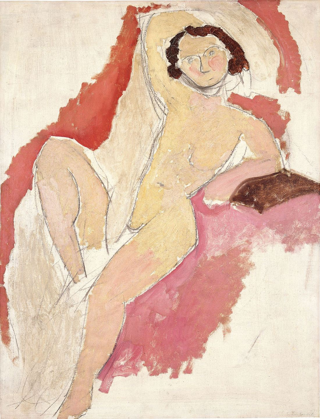 Henri Matisse, Seated Nude, 1909.