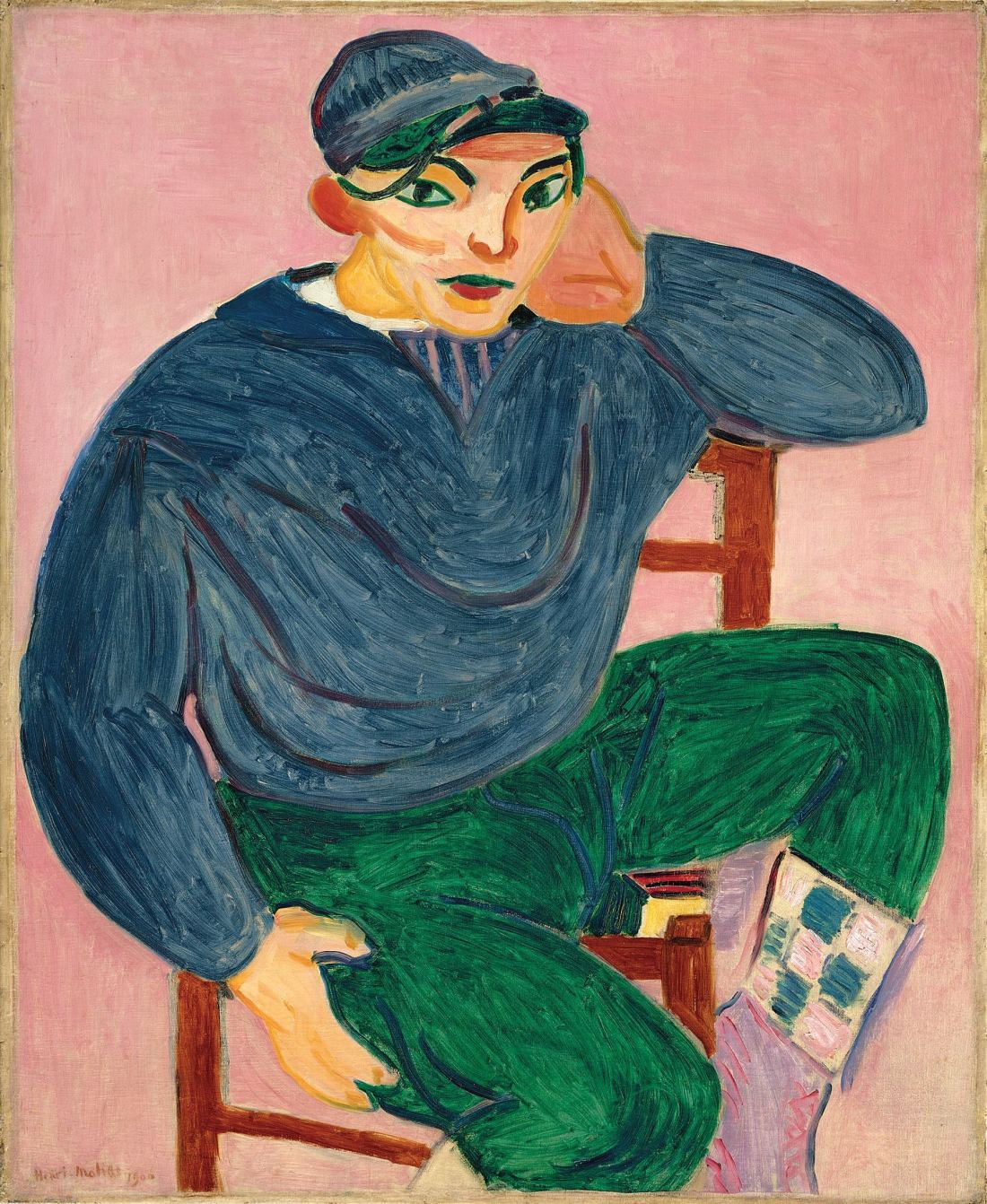 Henri Matisse, Young Sailor II, 1906. Collection of the Metropolitan Museum of Art, New York.