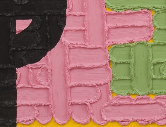 Jonathan Lasker, An Image of the Self (detail), 2009.