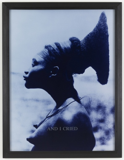 Carrie Mae Weems, And I Cried from From Here I Saw What Happened and I Cried, 1995–96. Collection of the Museum of Modern Art, New York.