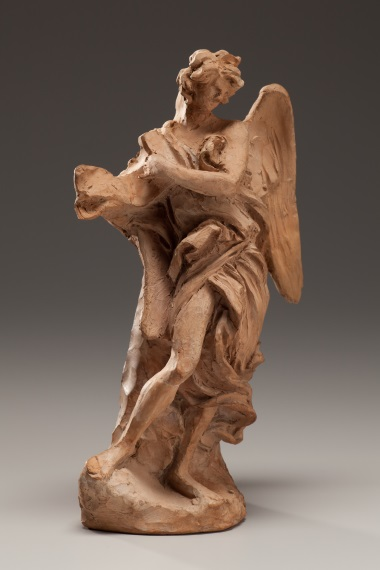 Gian Lorenzo Bernini, Angel with the Superscription, c. 1667–68. Collection of the Kimbell Art Museum, Fort Worth.
