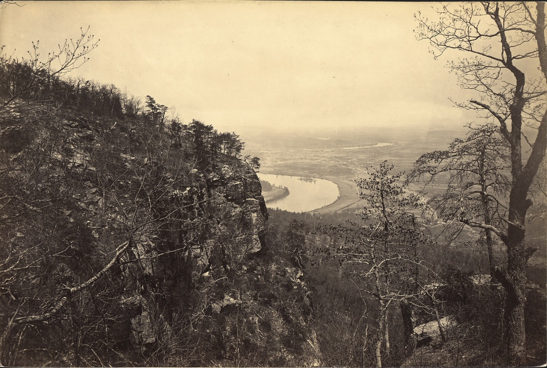 George Barnard, Chattanooga Valley from Lookout Mountain, 1864. Collection of the Museum of Modern Art, New York.