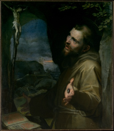 Barocci, Saint Francis, ca. 1600-04. Collection of the Metropolitan Museum of Art, New York.
