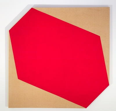 Larry Bell, Little Blank Riding Hood, 1962. Collection of the Museum of Contemporary Art San Diego.