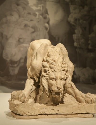 Gian Lorenzo Bernini, Model for the Lion on the Four Rivers Fountain, c. 1649-50. Collection of the Accademia Nazionale di San Luca, Rome.