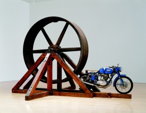Chris Burden, The Big Wheel, 1979. Collection of The Museum of Contemporary Art, Los Angeles.