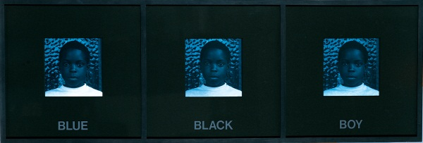 Carrie Mae Weems, Blue, Black, Boy from Colored People, 1989-90.
