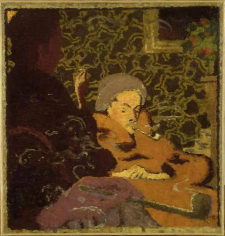 Pierre Bonnard, Intimacy, 1891.