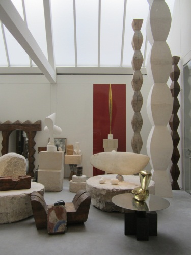 Reconstruction of Atelier Brancusi at the Centre Pompidou in Paris. Photos via Flickr user Daniel Ryan.
