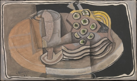 George Braque, Still Life, 1929. Collection of the Metropolitan Museum of Art, New York.