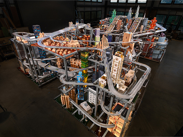 Chris Burden, Metropolis II, 2011.