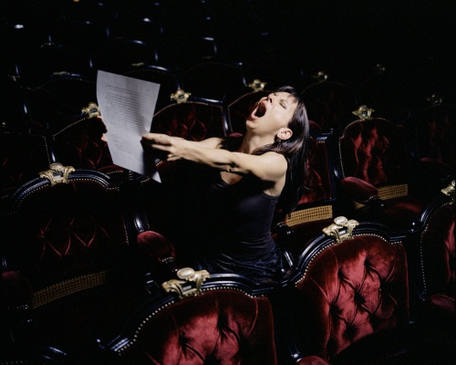 Sophie Calle. Take Care of Yourself: Opera Singer, Natalie Dessay, 2007.