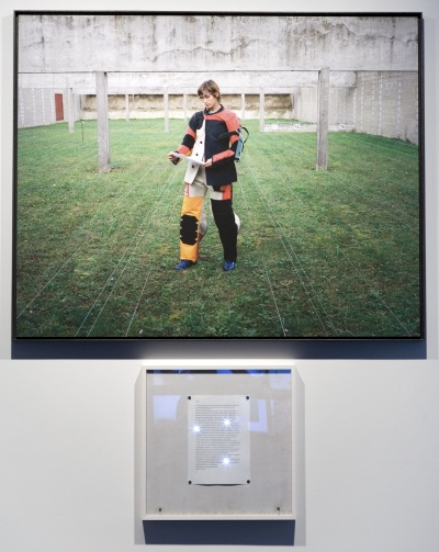 Sophie Calle. Take Care of Yourself: Rifle Shooter, Sandy Morin, 2007.