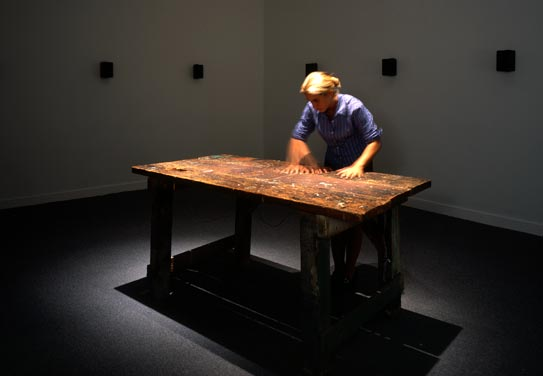 Janet Cardiff, To Touch, 1993.
