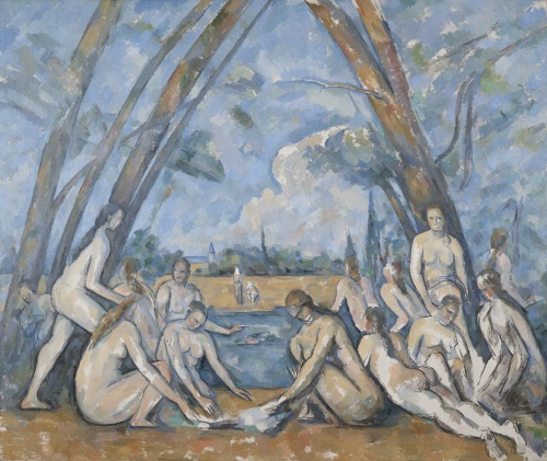 Paul Cezanne, The Large Bathers, 1906. Collection of the Philadelphia Museum of Art.