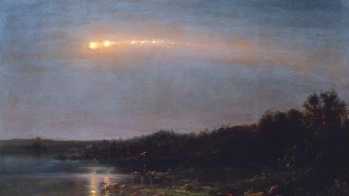 Frederic Edwin Church, Meteor of 1860, 1860.