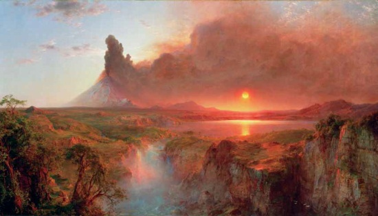 Frederic Edwin Church, Cotopaxi, 1862. Collection of the Detroit Institute of Arts.