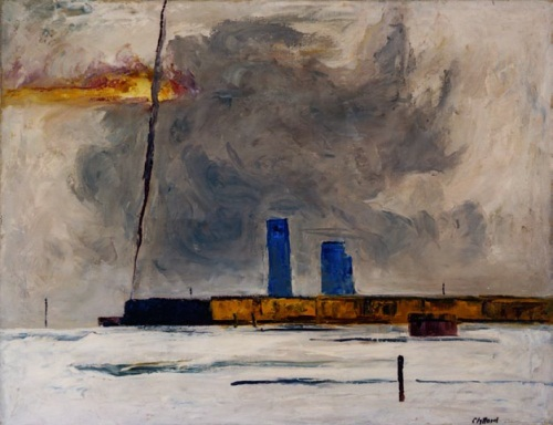 Clyfford Still, PH-623, 1929-30. Collection of the Clyfford Still Museum, Denver.
