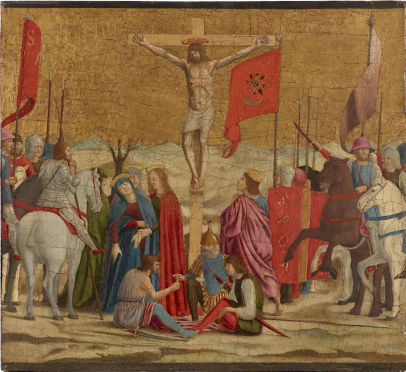 Piero della Francesca, The Crucifixion, 1454–1469. The Frick Collection, New York.