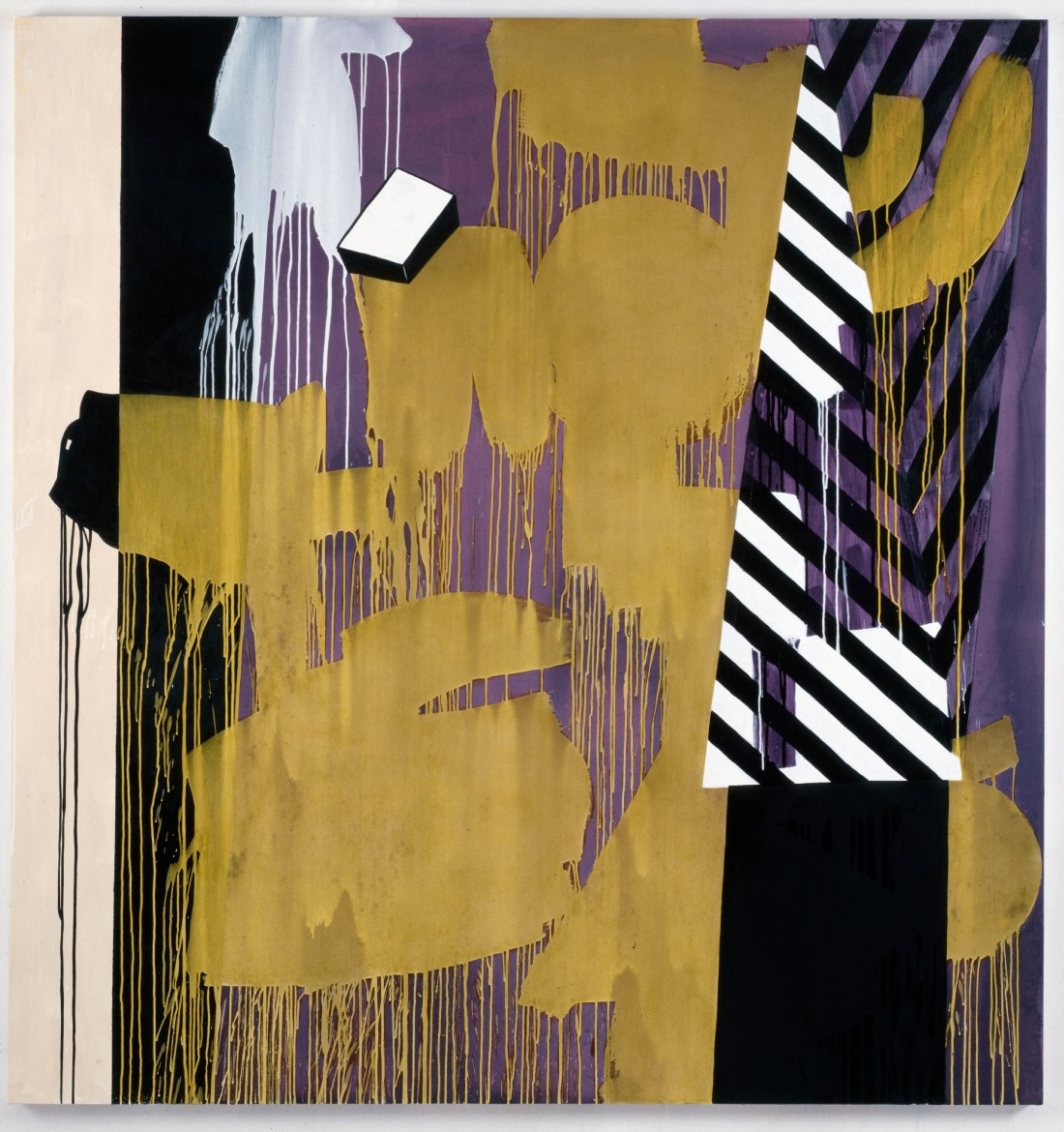 Charline von Heyl, It's Vot's Behind Me That I Am (Krazy Kat), 2010.