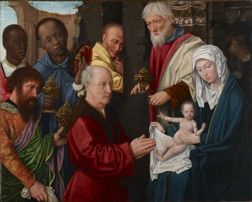 Gerard David and Workshop, Adoration of the Kings, ca. 1514. Collection of the Princeton University Art Museum.