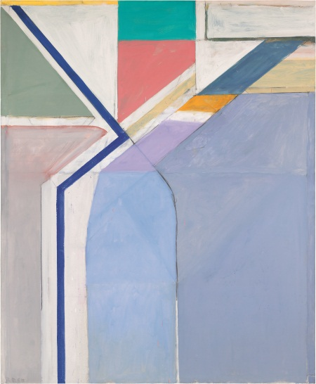 Richard Diebenkorn, Ocean Park #24, 1969. Collection of the Yale University Art Gallery, New Haven, Conn.