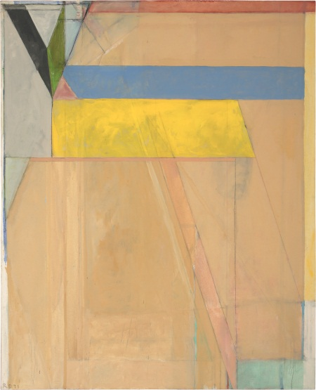 Richard Diebenkorn, Ocean Park #38, 1971. Collection of The Phillips Collection, Washington.