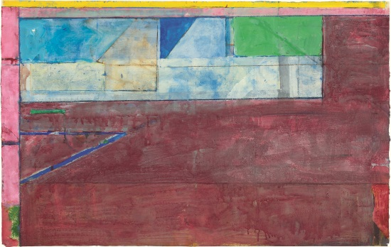Richard Diebenkorn, Untitled, 1984.