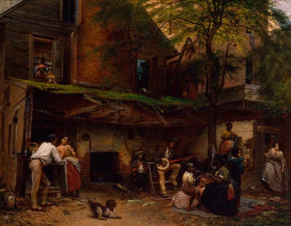 Eastman Johnson, Negro Life in the South, 1859. Collection of The New York Historical Society.