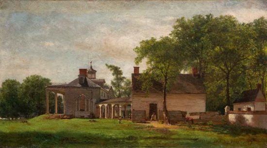 Eastman Johnson, The Old Mount Vernon, 1857. Collection of the Mount Vernon Ladies' Association.