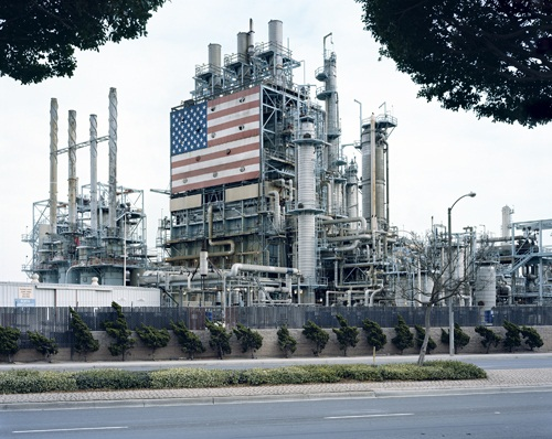 "Mitch Epstein, BP Carson Refinery, California from the series ""American Power,"" 2007."