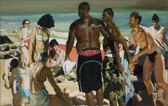 Eric Fischl, Scenes of Late Paradise: Beached, 2007.