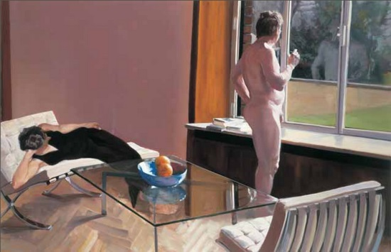 Eric Fischl, Krefeld Project: Sunroom, Scene 1, 2002.