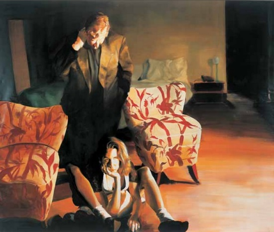 Eric Fischl, The Bed, The Chair, The Sitter, 1999.