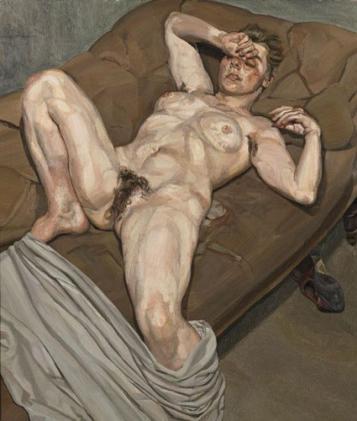 Lucian Freud, Rose, 1978-79.