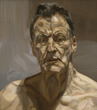 Lucian Freud, Reflection (Self-Portrait), 1985.