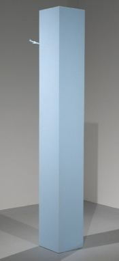 Tom Friedman, Untitled, 2005. The work is eight-feet tall and the 'tower' is 16 inches by 16 inches.