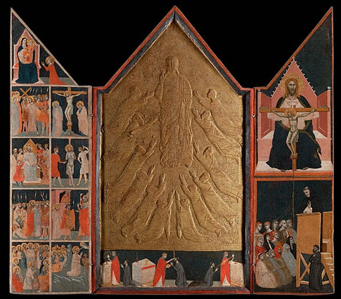 Pacino di Bonaguida, Chiarito Tabernacle, 1340s. Collection of the J. Paul Getty Museum, Los Angeles.