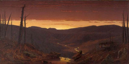 Sanford R. Gifford, Twilight in the Catskills, 1861. Collection of the Yale University Art Gallery, New Haven, Conn.
