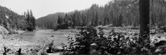 Frank Gohlke, Confluence of Pine Creek and Lewis River, thirteen miles southeast of Mount St. Helens, Washington, 1984. Collection of the Amon Carter Museum of American Art, Fort Worth.