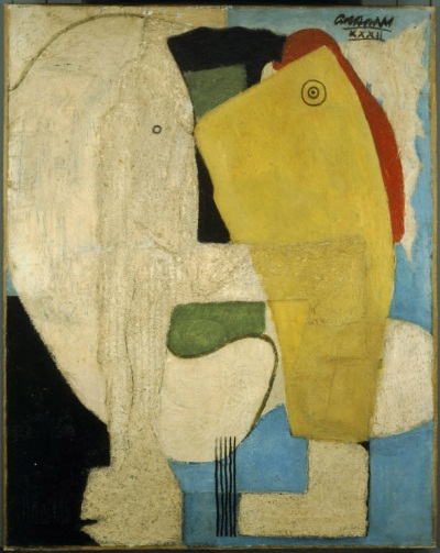 John Graham, Embrace, 1932. Collection of The Phillips Collection, Washington.