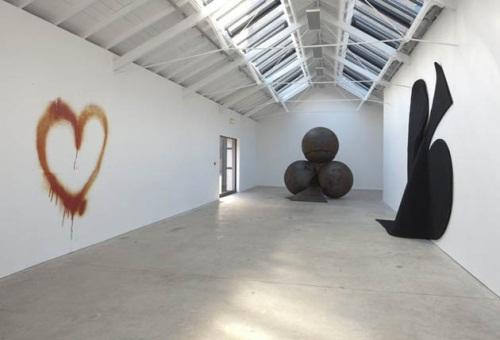 Mark Handforth, installation view, The Modern Institute, Glasgow, Scotland.