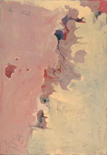 Hassel Smith, A Rose, 1959. Collection of the San Francisco Museum of Modern Art.