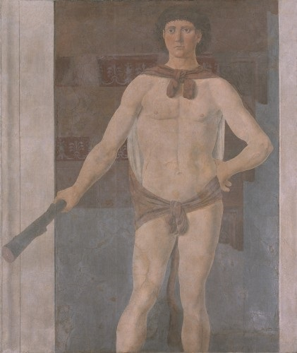 Piero della Francesca, Hercules, about 1470. Collection of the Isabella Stewart Gardner Museum, Boston.