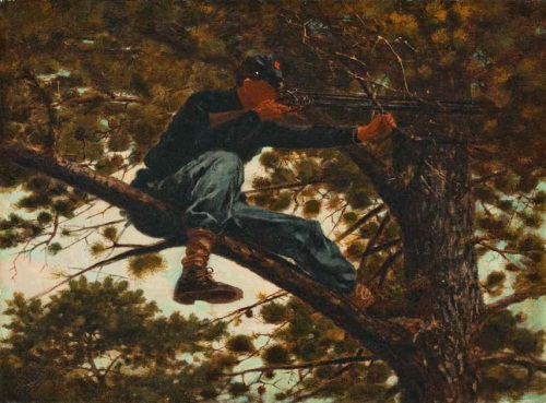 Winslow Homer, Sharpshooter, 1863. Collection of the Portland Museum of Art, Maine.