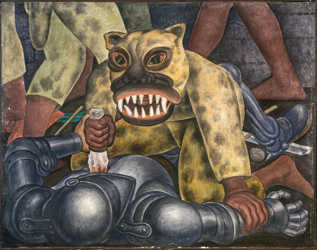 Diego Rivera, Indian Warrior, 1931. Collection of the Smith College Museum of Art, Northampton, Mass.