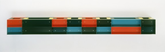 Donald Judd, Untitled, 1985. Collection of the Tate, London.