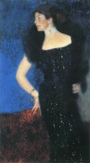 Gustav Klimt, Portrait of Rose von Rosthorn-Friedmann, 1900.
